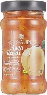 Pol's Helvart Gurme Chıa Tohumlu , %65 Meyve Oranlı Şeker İlavesiz Hurma Suyu İle Tatlandırılmış Ayva Reçeli 400 Gr