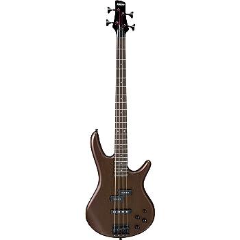 Ibanez GSR 4 String Bass Guitar, Right Handed, Walnut Flat (GSR200BWNF)