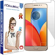CELLBELL® Tempered Glass Screen Protector for Motorola Moto E4 Plus with Free Installation Kit