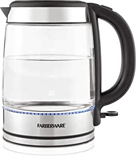 Farberware 1.7-Liter Glass Kettle
