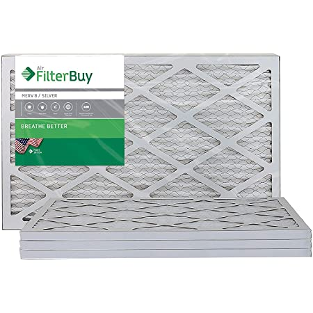 Nordic Pure 19/_3//4x21x1 Exact MERV 12 Pleated AC Furnace Air Filters 6 Pack