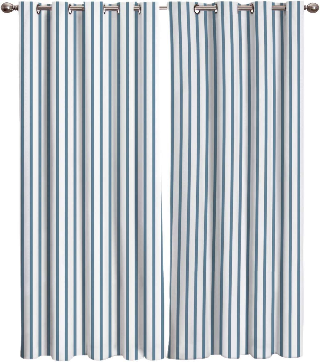 Limited price FortuneHouse8 Blackout Curtains Max 75% OFF Thermal Simple Modern Insulated