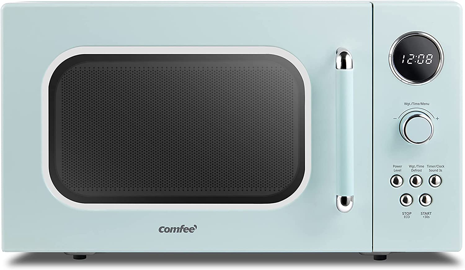 COMFEE' CM-M091AGN Retro Microwave with 9 Multi-stage discount Arlington Mall Cooking P