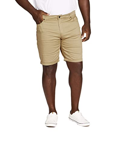 Johnny Bigg Big Tall Marshall Elastic Chino Shorts (Sand) Men