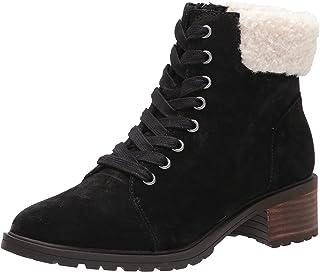 حذاء Jacenia Bootie Combat للنساء من Lucky Brand ، أسود ، 5
