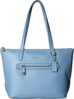 e8a0ecbdd Coach taylor tote in metallic leather | Shipped Free at Zappos