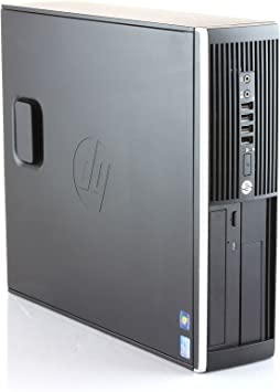 TALLA I5-3470|8 GB| SSD 240 GB| WIN 10 PRO. Hp Elite 8300 - Ordenador de sobremesa (Intel Core i5-3470, 8GB de RAM, Disco SSD de 240GB, Lector DVD, Windows 10 PRO ES 64) - Negro (Reacondicionado)