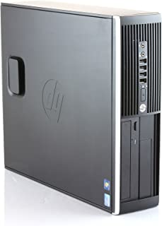 Hp Elite 8300 - Ordenador de sobremesa (Intel Core i5-3470, 8GB de RAM, Disco SSD de 240GB, Lector DVD, Windows 10 PRO ES 64) - Negro (Reacondicionado)