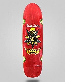 lordofbrands Skate Skateboard Suicidal Possessed to Skate Pool Deck 8.75x32.5 Red