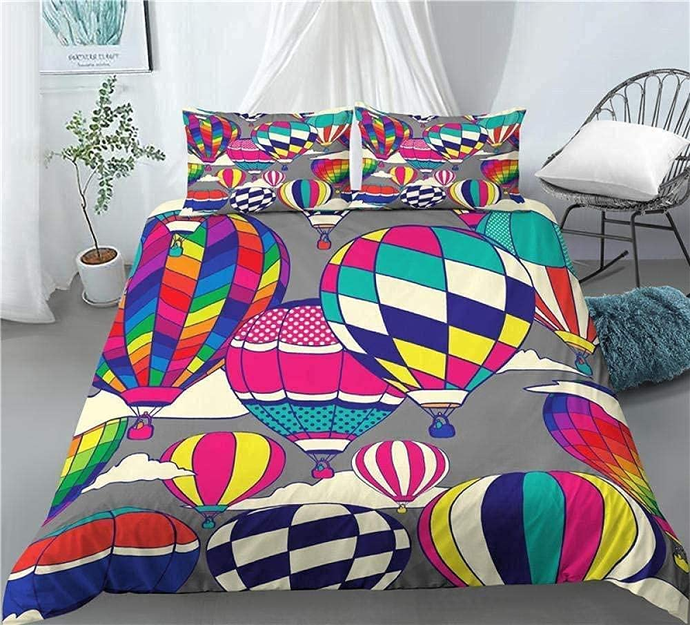 Duvet Limited time for free shipping Cover Set hot Under blast sales air Balloon Bedding Decorative Piece 3
