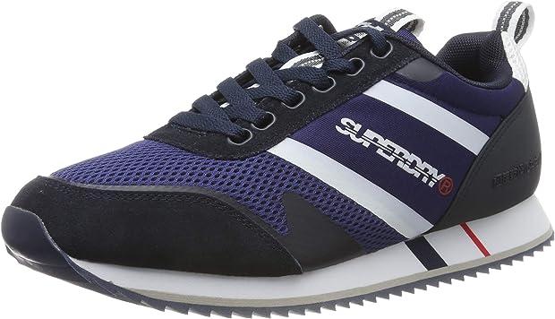 Scarpe sneakers superdry fero runner mf100, scarpe da ginnastica uomo MF100005A