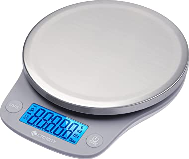 Etekcity 0.1g Food Kitchen Scale, Digital Grams and Ounces for Weight Loss, Baking, Cooking, Keto and Meal Prep, Large, 304 S