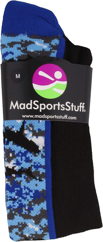 MadSportsStuff Digital Camo Shark Socks Over The Calf