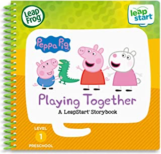 LeapFrog LeapStart 3D Peppa Pig Playing Together Book