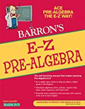 E-Z Pre-Algebra (Barron's Easy Way)