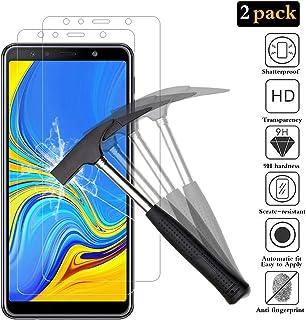 ANEWSIR [2 Pack] Protector de Pantalla para Samsung Galaxy A7 2018 Samsung A7 2018 Protector Pantalla, Samsung A7 2018 Cristal Templado [Resistente a Arañazos] [Ultra-Transparente] [Sin Burbujas]