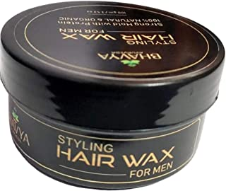 BHAVYA AYURVEDA Styling Hair Wax For Men Strong Hold With Protein Hair Wax (100 g)