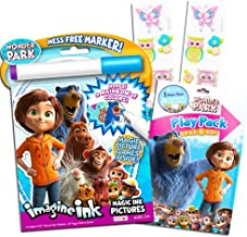 Wonder Park Coloring Book Set -- Imagine Ink Book, Play Pack and Bonus Owl Stickers (Party Pack)