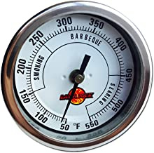 """LavaLock® 3"""" Adjustable Gas Charcoal Smoker Pit Grill BBQ Thermometer Electric.."""