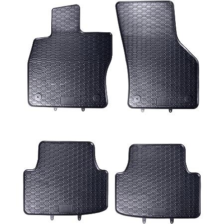 Gledring Satz Gummimatten Volkswagen Golf Sportsvan 2014 T Profil 4 Teilig Montage Clips Auto