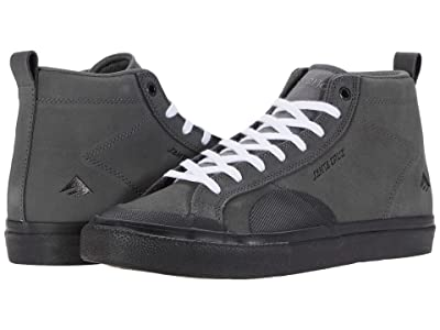 Emerica Omen Hi X Santa Cruz (Grey/Black) Men
