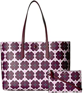 Kate Spade New York Women's Molly Graphic Clover Large Tote
