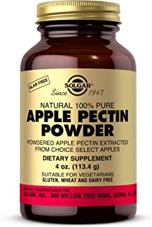 Solgar Apple Pectin Powder, 4 oz. - Extracted from Choice Select Apples - Digestive Health, Overall Wellness - Natural, 10...