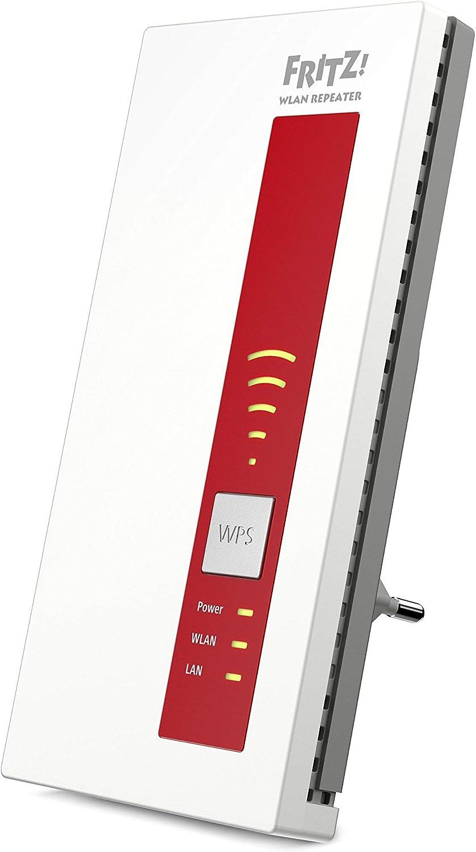AVM FRITZ 20E WLAN Repeater rot/weiß Amazon.de Computer & Zubehör