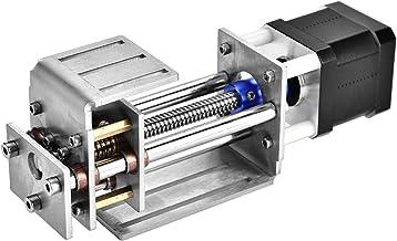 Mesa deslizante CNC, Eixos Z Slide 60 MM DIY Trilho de guia de movimento linear para marcenaria CNC