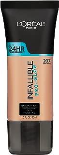 L'Oréal Paris Infallible Pro-Glow Foundation, Sand Beige, 1 fl. oz.