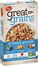 Post Great Grains Blueberry Morning, 13.5 Ounce (Pack of 12)