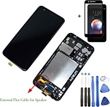 Eaglewireless Pre-Installed Full LCD Screen Replacement Assembly Kit with Touch Screen Digitizer for LG K30 X410TK T-Mobile, LG Phoenix Plus X410AS,LG Harmony 2 X410CS,K10 2018 (with Frame Housing)
