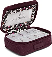 Vera Bradley Iconic Travel Pill Case, Microfiber