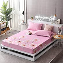Dorm Room Home Mattress Cover,Non-Slip Mattress Protective Case Environmentally Friendly Printing and Dyeing,Do Not Fade