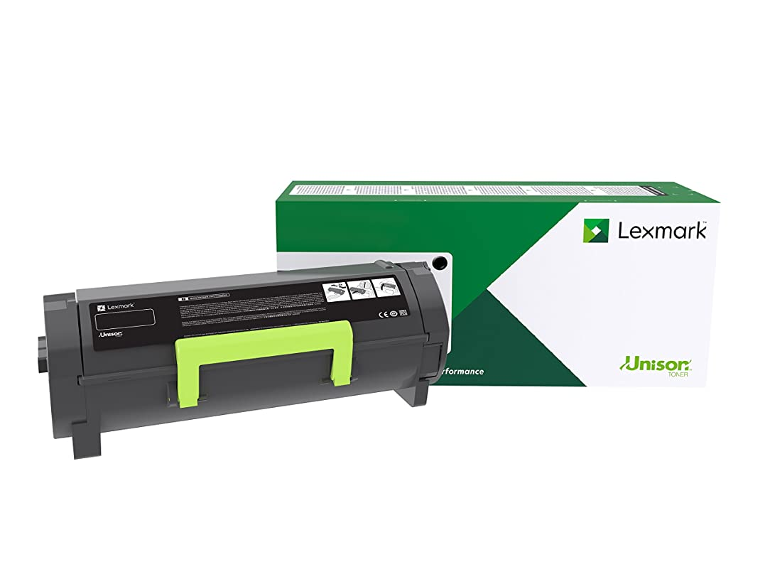 Lexmark 56F1U00 Black Ultra High Yield Return Program Toner Cartridge Toner