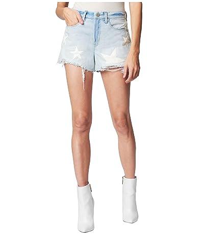 Blank NYC Cutoff Shorts with Star Detail (Allstar) Women