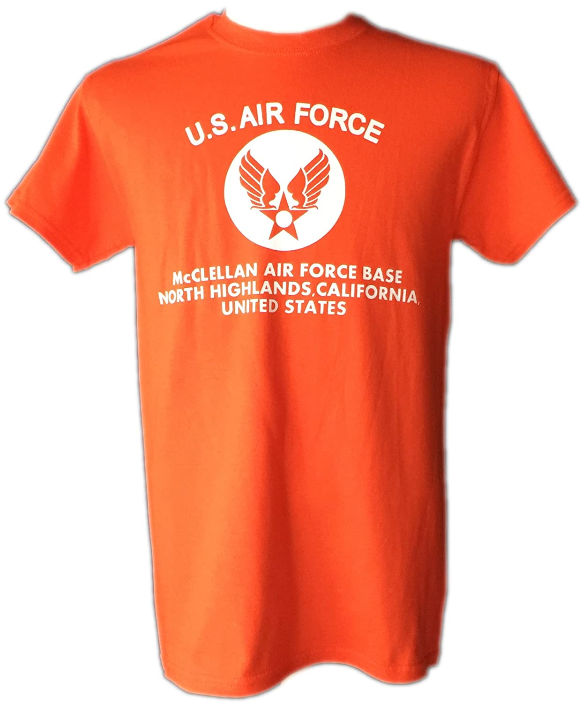 STOCKROOM U.S.AIR FORCE T-シャツ COLOR★1/AR【 6オンス 厚手 】