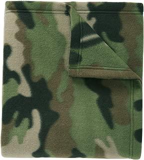 Port Authority Core Printed Fleece Blanket. OSFA Camo Print