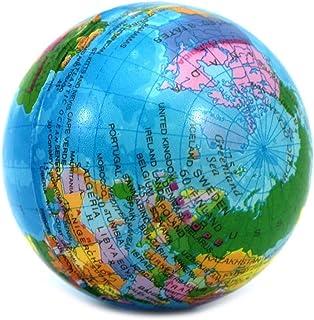 VANKER del globo del mundo Bola de la tensión de espuma