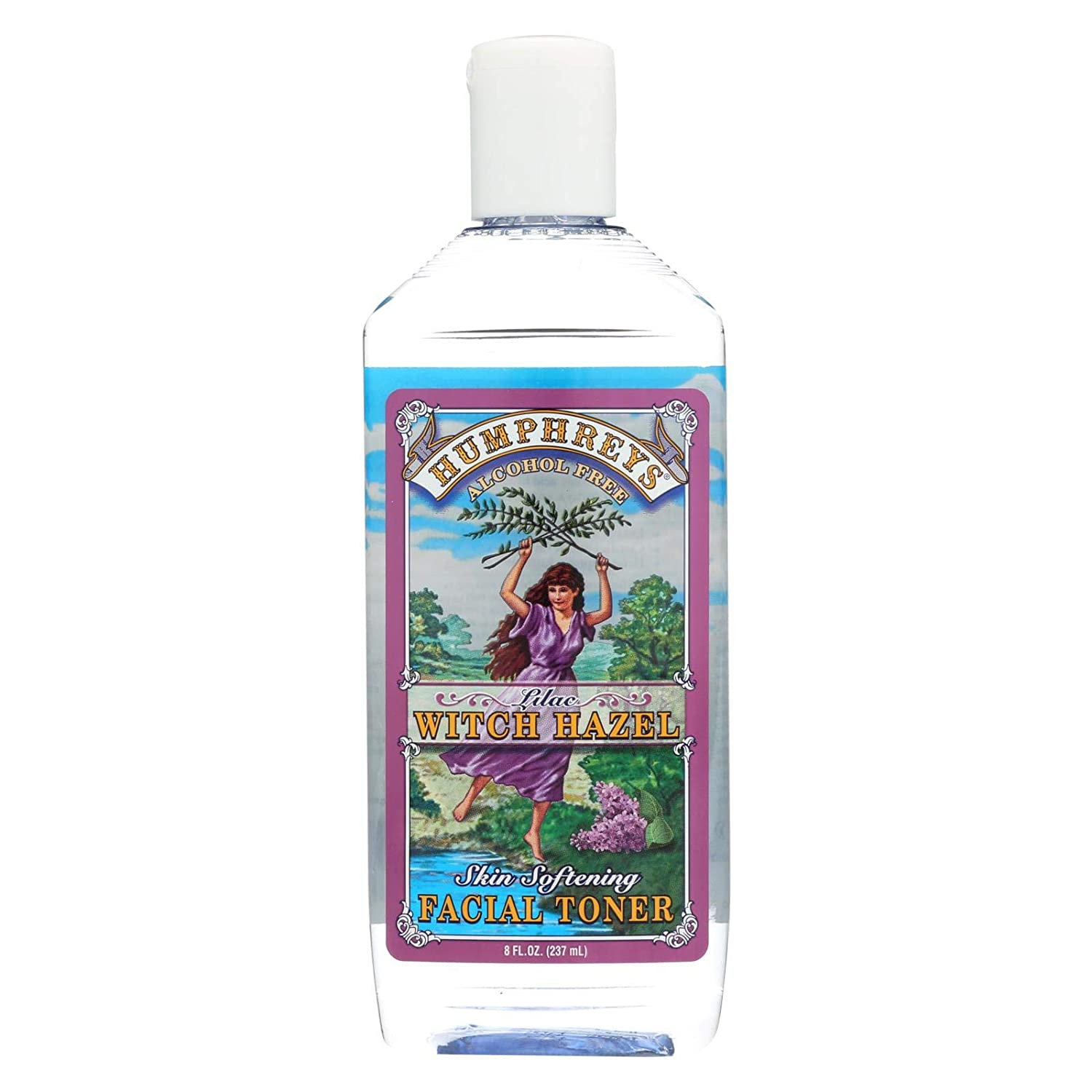 Reservation Humphreys Year-end annual account Witch Hazel Skin Softening Lilac Facial 8 Toner oz