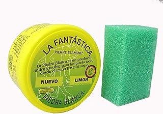 comprar comparacion LA FANTASTICA PIEDRA BLANCA (ARCILLA CON REGALO DE ESPONJA) BOTE 600 GRAMOS