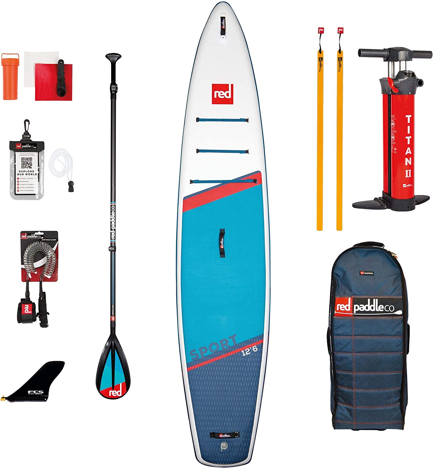 Red Paddle Sport 126 x 30 x 6 MSL Set SUP Sets