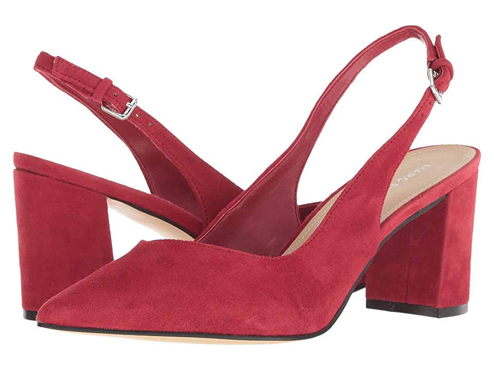 Marc Fisher Catling 2 (Red Suede) High Heels