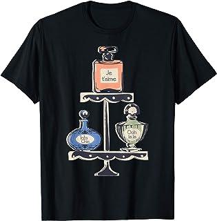 Paris Eau de Parfum Frascos de perfume Souvenir Francés Camiseta