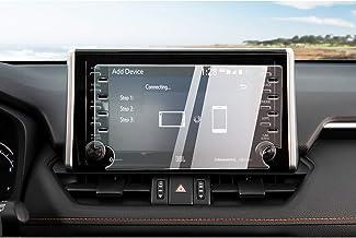 CDEFG para Toyota RAV4 2019 Protector de Pantalla de Vidrio Templado, HD Auto 9H GPS Navi película protegida Glass (8 Inches)