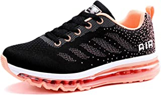 Azooken Womens Cross Training Shoes Trail Running Fitness Walking Air Cushion Jogging Sports Sneakers