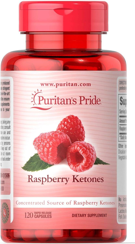 Puritan's Pride Raspberry Ketones 100 mg-120 Surprise SEAL limited product price Capsu Rapid Release