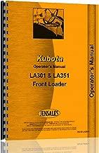Kubota LA351 Loader Attachment for B2400HST Series Tractor Operators Manual