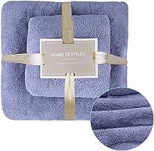 HomeChi Juego de Toallas para Baño, Toallas de baño súper suaves Toallas de mano gruesas, absorbentes y gruesas Tamaño ext...