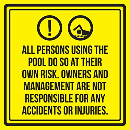 728e440428b6 iCandy Products Inc All Persons Using The Swimming Pool Do So at Their Own  Risk.